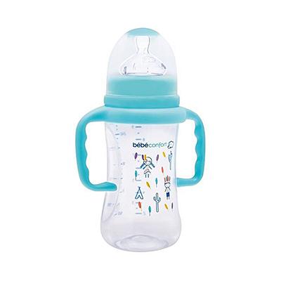 Bébé Confort Biberon Classique Maternity Avec Poignées Indians Bleu 270 ml 7750
